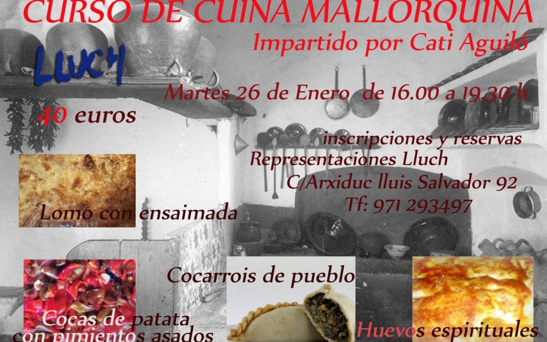 Curs de cuina mallorquina