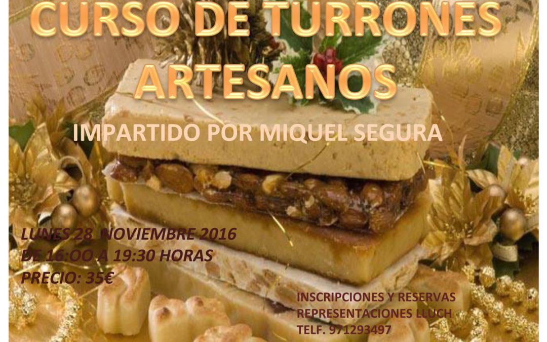 Curso de Turrones Artesanos